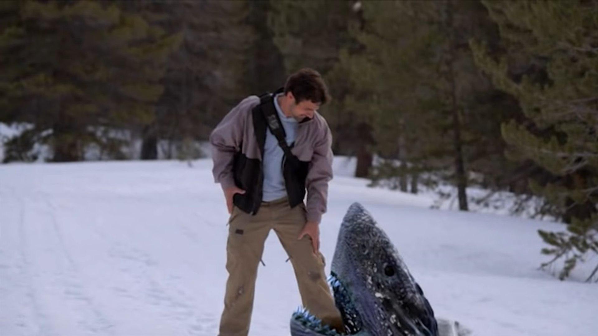 Avalanche sharks syfy