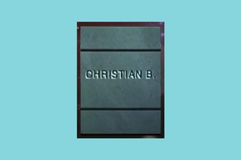 Метафора жизни: рецензия на к/ф «Кристиан Б.»